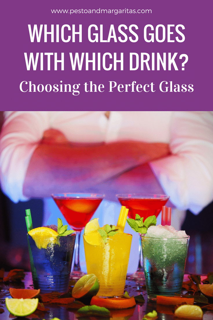Choosing which glass you need for your drink may not seem a big decision. But the type of glass can have an effect on the drink and can make it better - or worse! Click to find out which glass you need for your favourite drink.