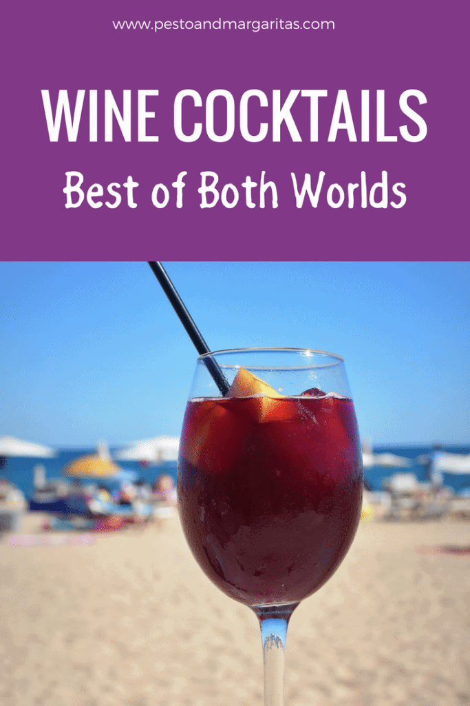 Wine cocktails - are they the best of both worlds?  Using wine and a mixture of fruit or juice, these drinks offer something for all tastes and include the ever-popular Sangria.