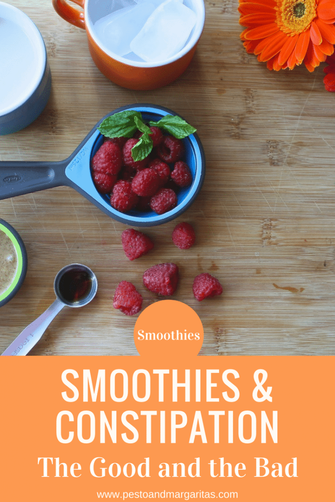There's a lot to be said for using smoothies to help ease the problem of constipation but it isn't just a case of drink lots and the problem goes away. Here's a look at the good and the bad of smoothies and constipation.