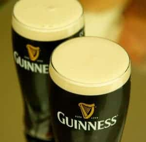 Irish themed cocktails