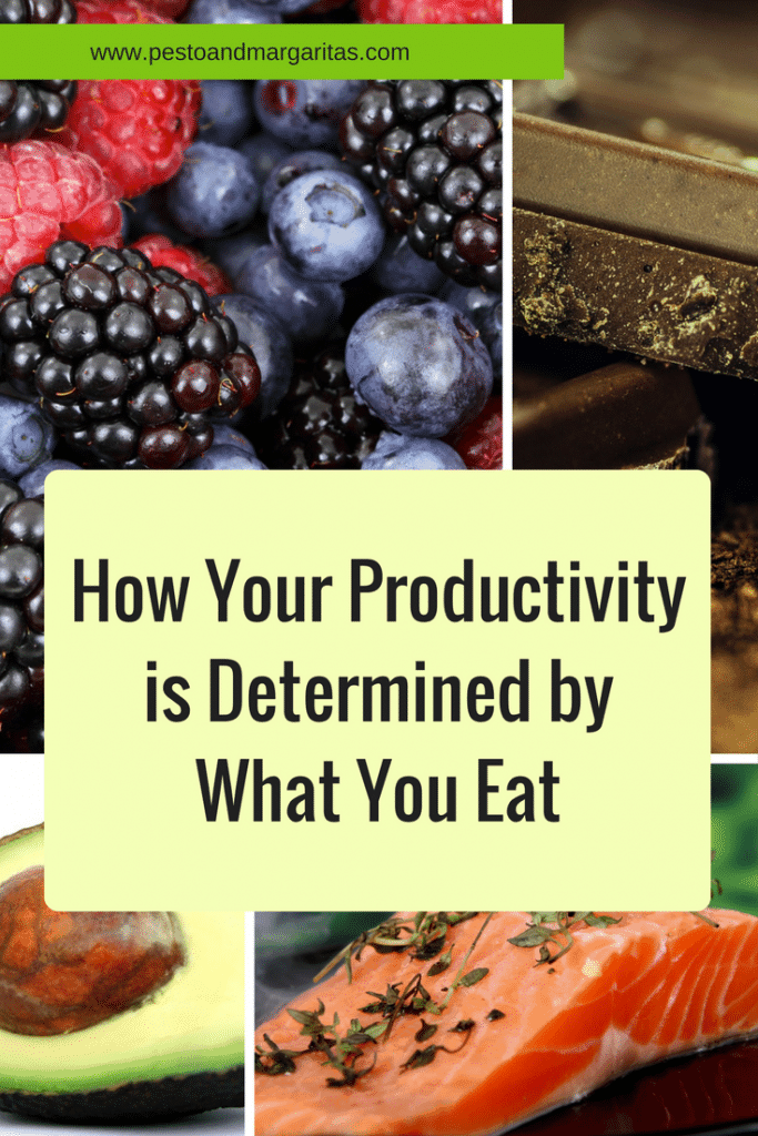 How Your Productivity is Determined by What You Eat