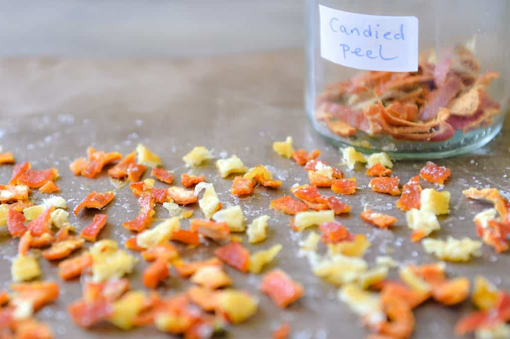 food waste - candied peel