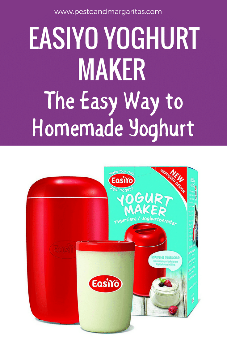 Homemade yoghurt is becoming a popular option for people who know the health benefits of it compared to store bought options. The EasiYo yoghurt maker is a simple way to make home made yoghurt and there are loads of flavours (affiliate) - click to read more