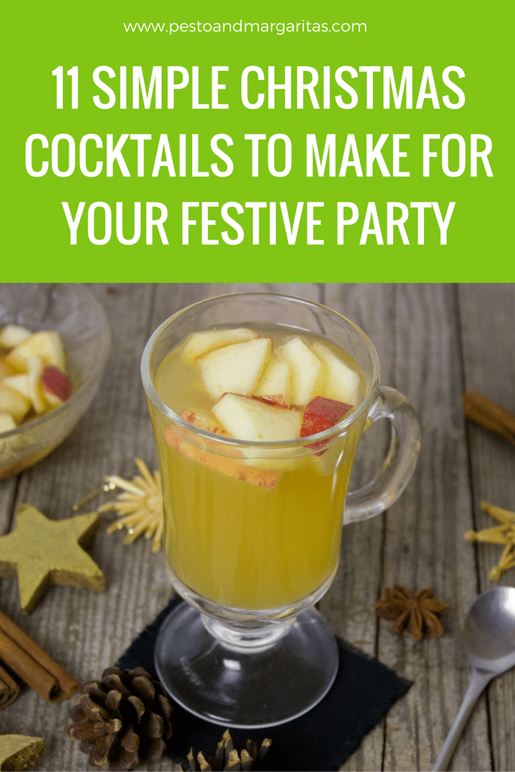 11 simple christmas cocktails to make for your festive Simple holiday cocktails