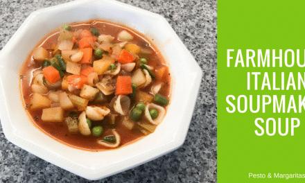 Farmhouse Italian Soupmaker Soup (Minestrone)