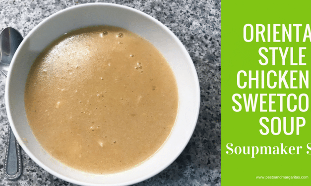 Oriental Style Chicken and Sweetcorn Soupmaker Soup