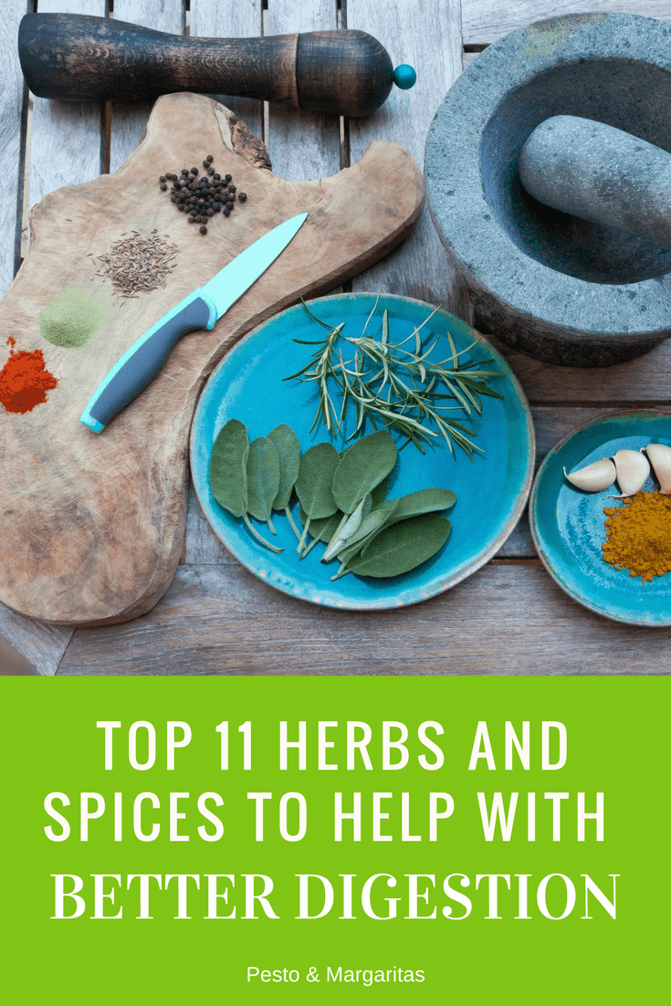 Top 11 Herbs and Spices to Help with Better Digestion - Pesto ...