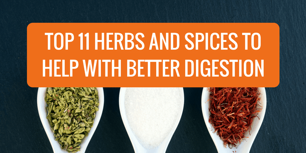 Top 11 Herbs and Spices to Help with Better Digestion