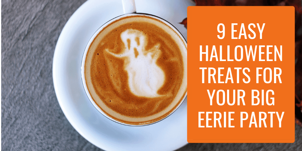 9 Easy Halloween Treats for Your Big Eerie Party